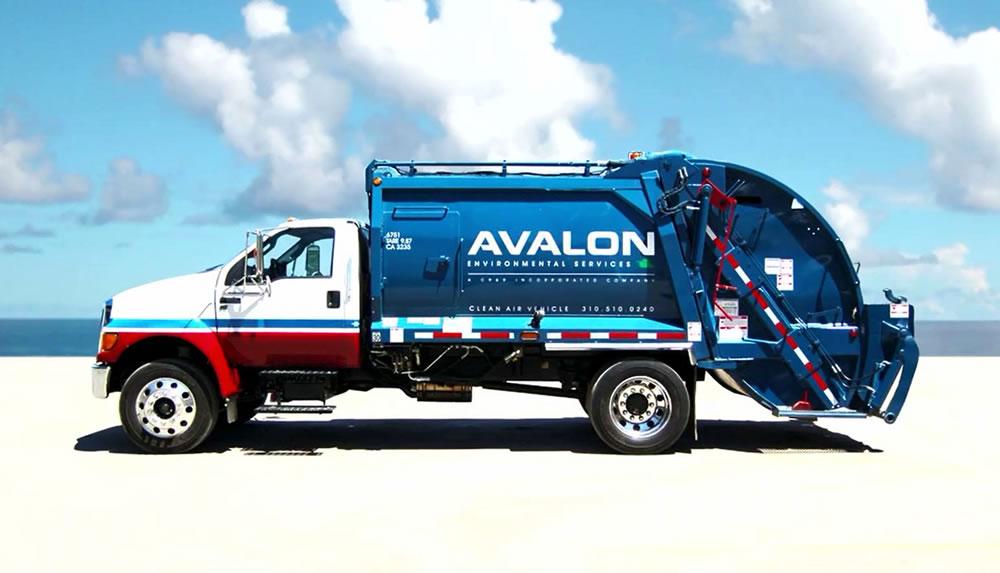 Avalon CA CRR Environmental Services - Avalon truck