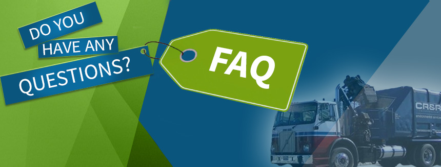 CR&R Frequently Asked Questions | CR&R Environmental Services