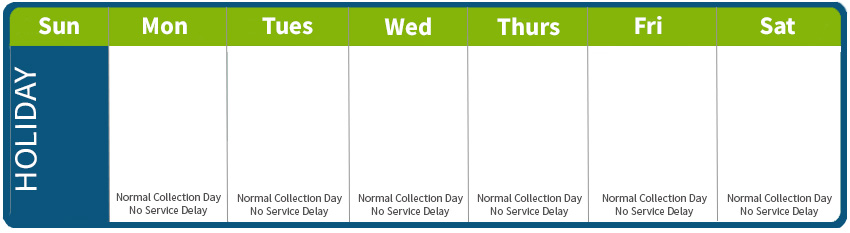 Crr Holiday Schedule Crr Environmental Services