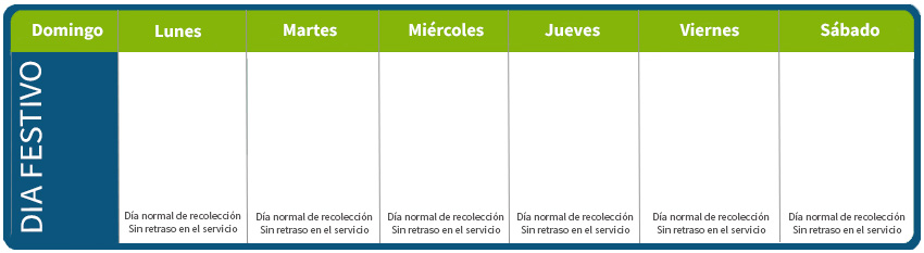 Semana Calendario.Cr R Programacion De Vacaciones Cr R Environmental Services
