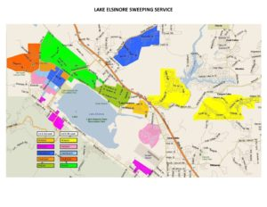 Map Sweeper Lake Elsinore Cr Amp R Environmental Services